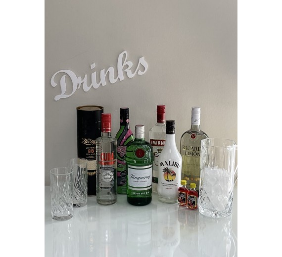 Skilt - Drinks