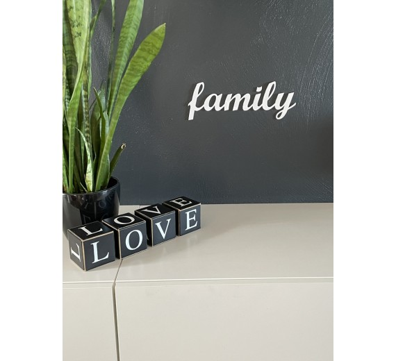 Skilt - Family