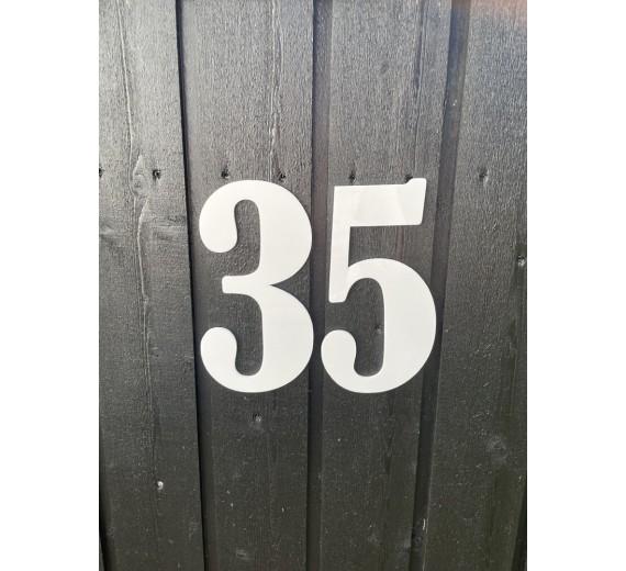 Tal/Husnummer i akryl