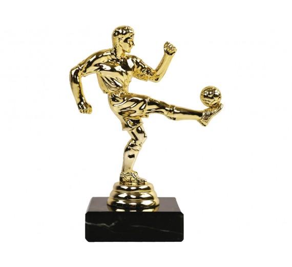 Fodboldspiller Guld - Statuette J-1347G