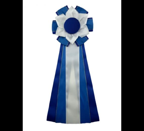 S10 blå m. guldkant