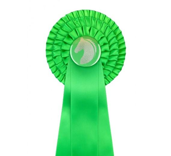 3-rings rosette grøn