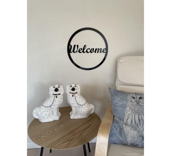Skilt - Welcome