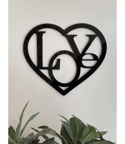 """Hjerte med """"Love"""""""