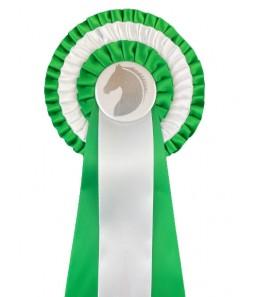 3-rings grøn/hvid